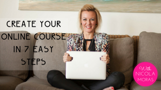 create your online course in 7 easy steps