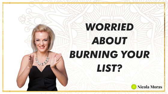 Worried About Burning Your List?
